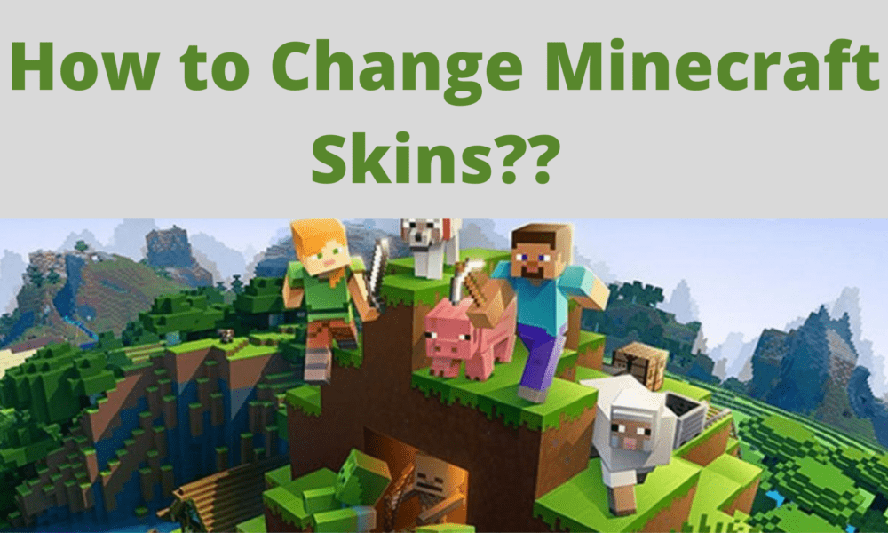 How To Change Minecraft player skin in 2021