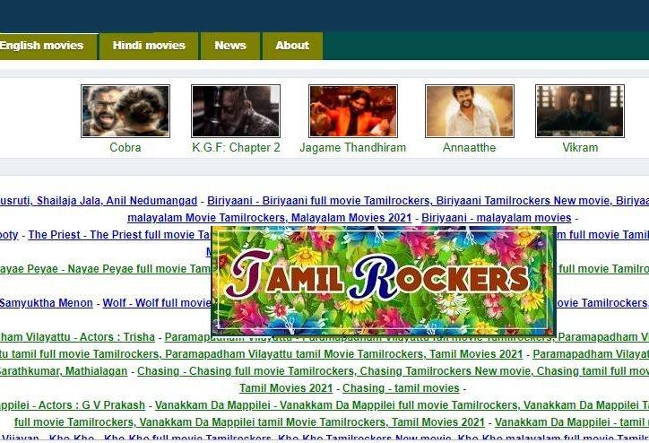 Tamilrockers 2021 Best Alternatives for Tamilrockers